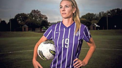 Furman women's soccer star Stephanie DeVita has been named the Southern Conference's Female Athlete of the Year.