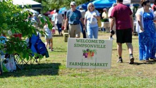 Dianne Carson said the 2016 season will be her last as Simpsonville Farmer's Market manager.