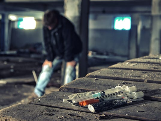 #stockphoto heroin drugs
