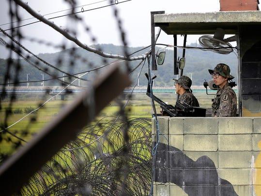 South Korea Koreas American Detained