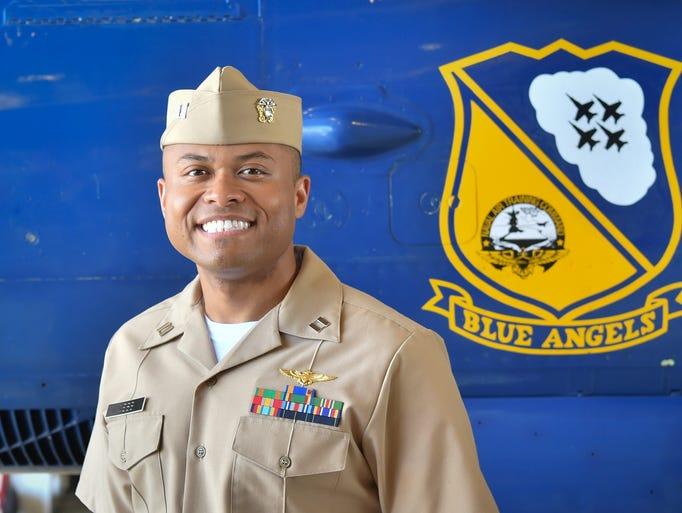 Navy Lt. Andre Webb