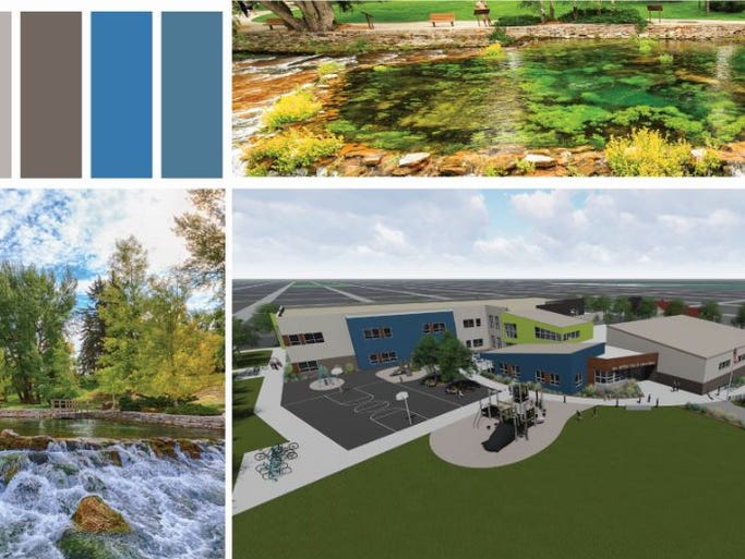LPW Architects took inspiration from Giant Springs