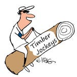 The Timber Jockeys are one of the B-Mets' proposed nicknames.