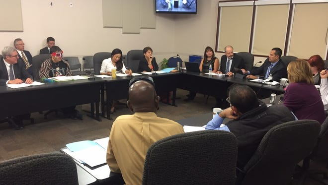 The City Council opposed an MPO policy board decision to reduce its membership numbers. Monday, Oct. 31, 2016.