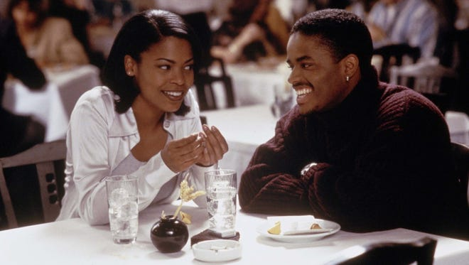 "Nia Long and Larenz Tate star in the 1997 romantic comedy ""Love Jones."""