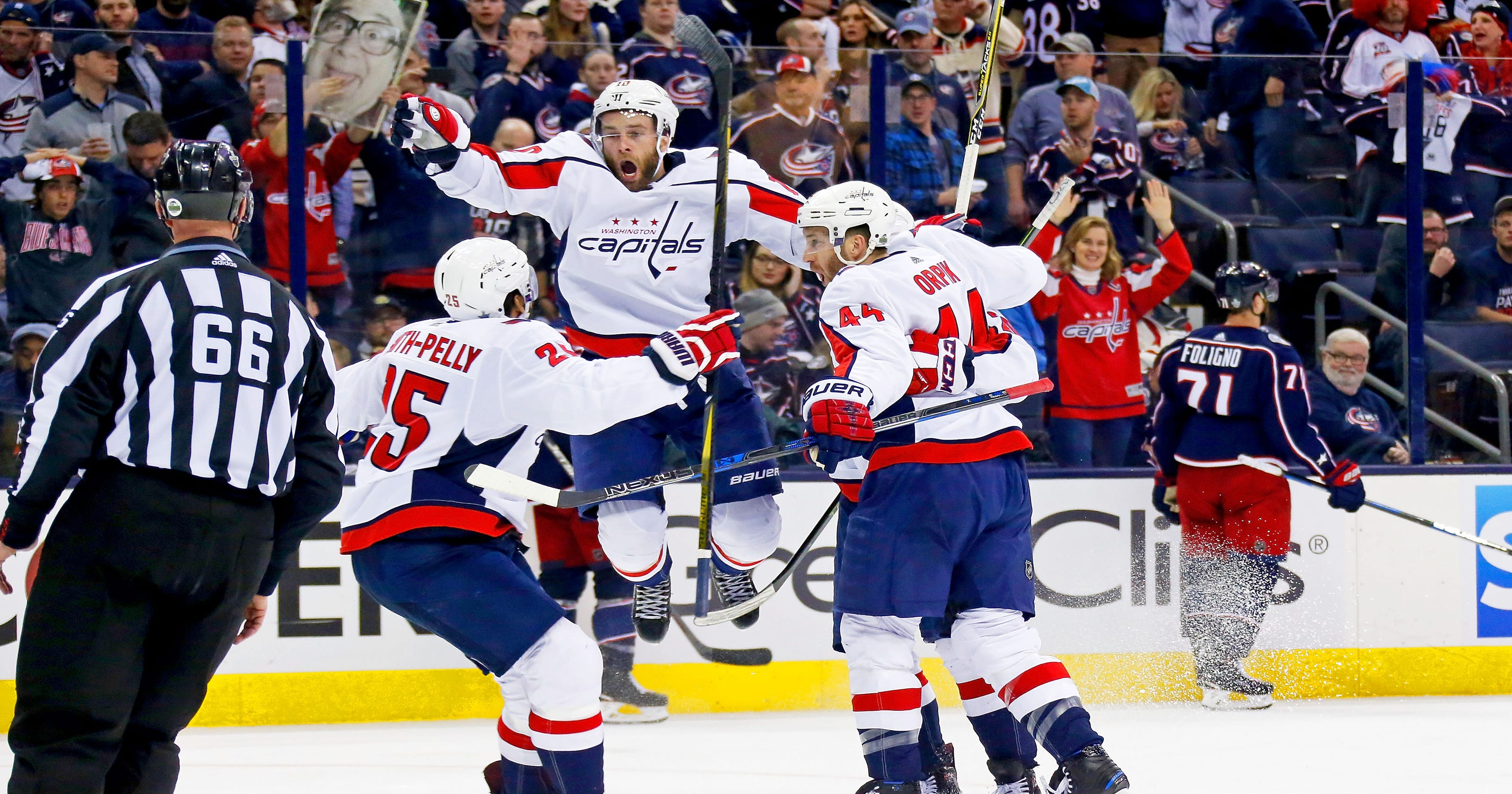 365987c922f Capitals get back into series with Blue Jackets with double-overtime win