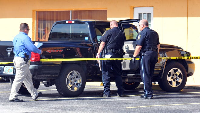 A father discovered his unresponsive baby in the back of his black pickup truck on June 16, 2014, in Rockledge, Fla., after he had been inside working for several hours. Police and emergency workers could not revive her.