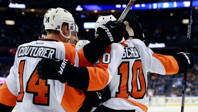 The Flyers are feeling like a stronger team than the one that collapsed at this point last season.
