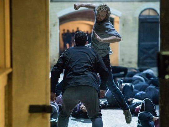 Finn Jones as Danny Rand/Iron Fist.