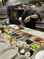 Louis Brott, executive chef at Anton's, creates a balsamic