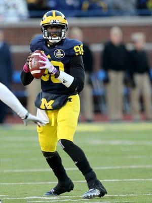 Michigan quarterback Devin Gardner