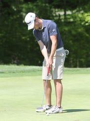 Mitchell Cotten has tied the Hartland nine-hole golf