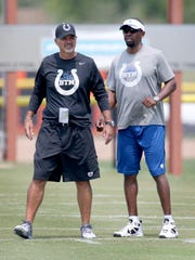 Colts head coach Chuck Pagano made it clear that the firing of Pep Hamilton was his call.