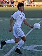 No area boys soccer player scored more goals than Jose Chavarria did this season.