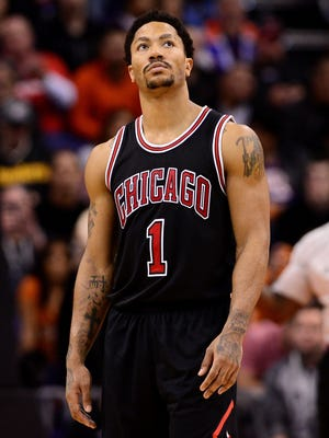 Bulls guard Derrick Rose is out again with a knee injury.