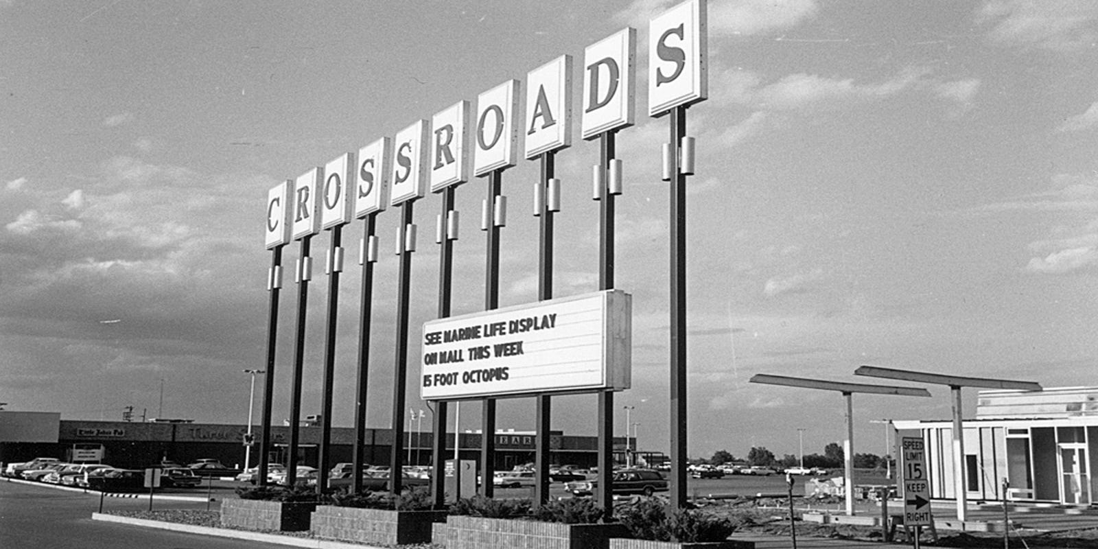 As Crossroads turns 50, retail strategies change