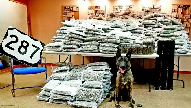 Wichita County Sheriff's deputies assisted in a Wilbarger County traffic stop that reportedly resulted in 1,000 pounds of hydro marijuana being seized.