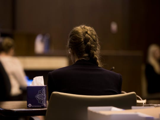 Lisa Troemner sits as final evidence is heard and examined