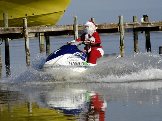 Season Your Holidays With Island Spirit Is All About Locals Enjoying Pensacola Beach