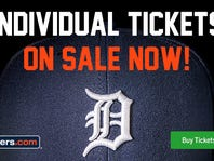 Detroit Tigers Tickets- Individual Seats