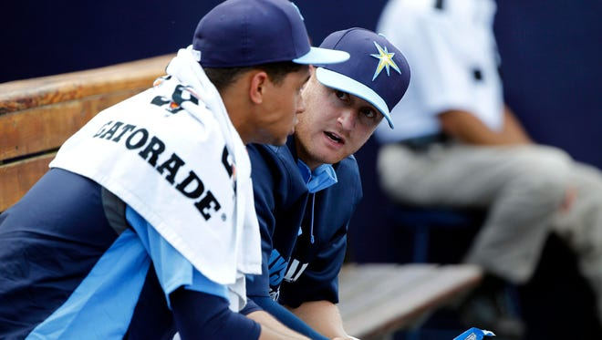 Tampa Bay Rays pitcher Alex Cobb says he'd like to try a protective cap before the regular season starts.