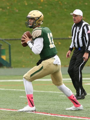 Nick Patti has thrown for 1,528 yards and 14 touchdowns for St. Joseph this season.