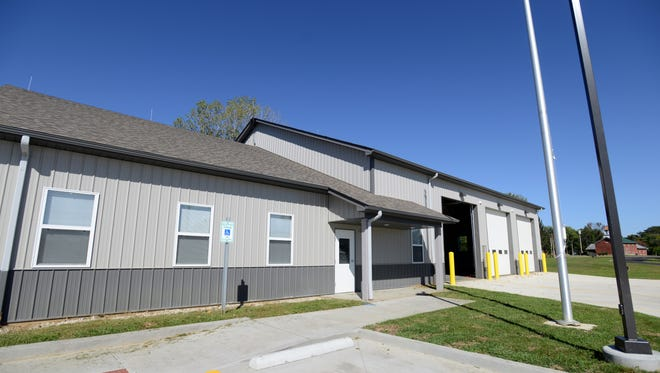 The Bloom Township Fire Department will be operating out of the new second station on Lithopolis Road on Saturday.