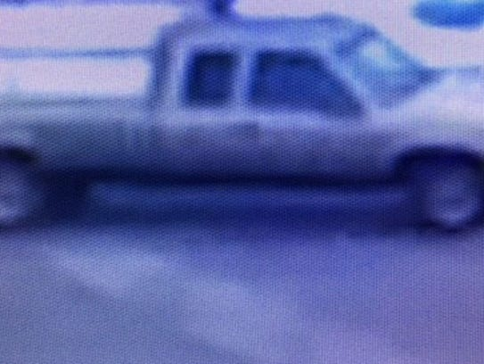 Muncie police said this truck, shown in surveillance