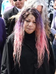 Prince's sister Tyka Nelson (seen here) along with
