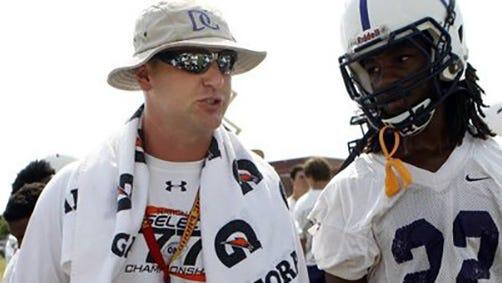 Former DeSoto Central football coach Matt Wallace