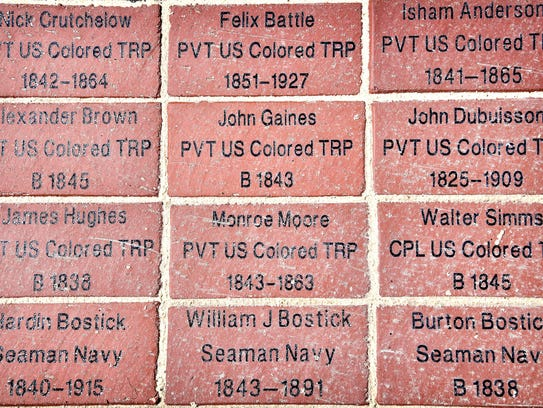 People can sponsor bricks to be included in the walkway