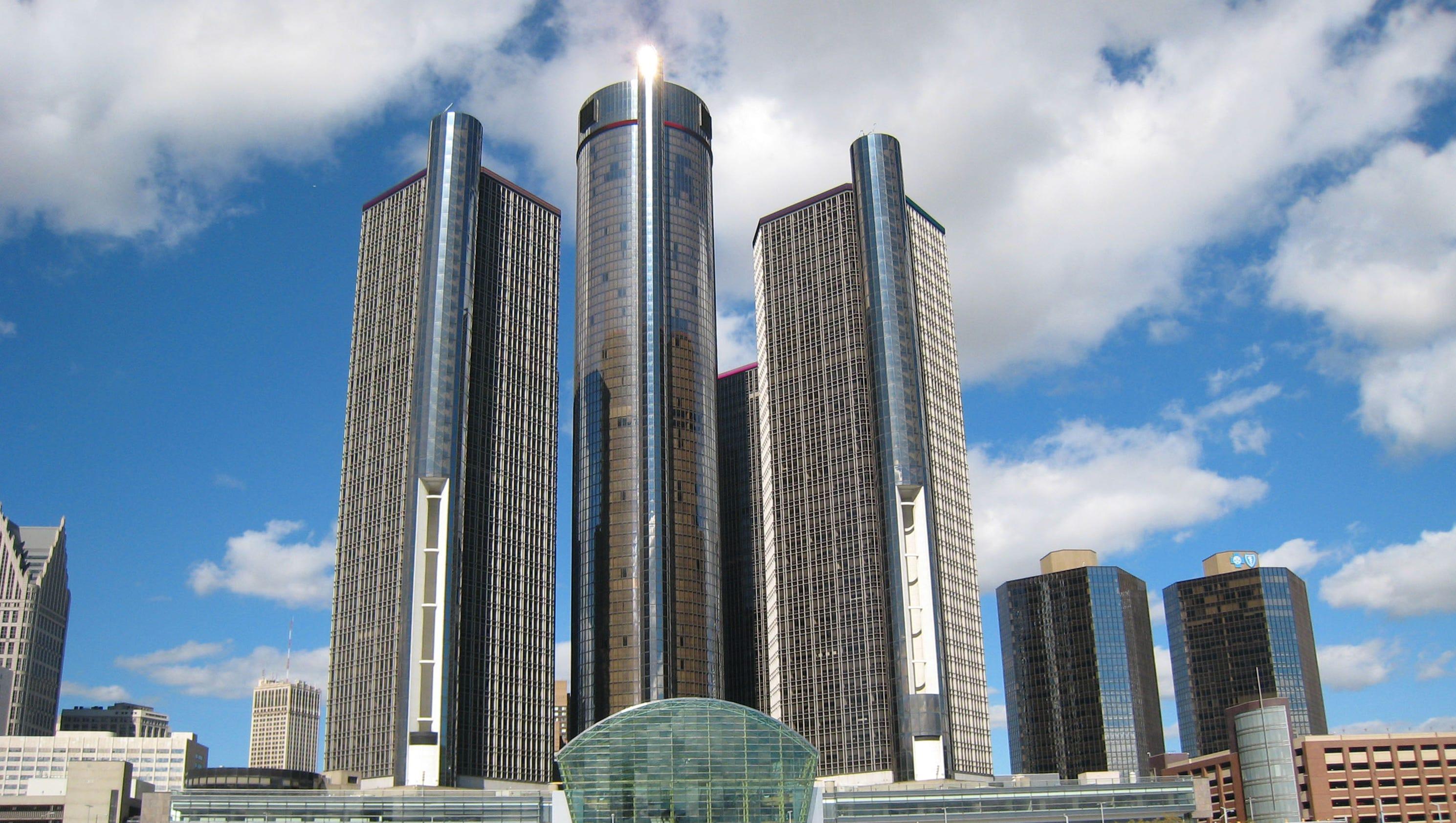 Downtown Detroit's 20 tallest buildings