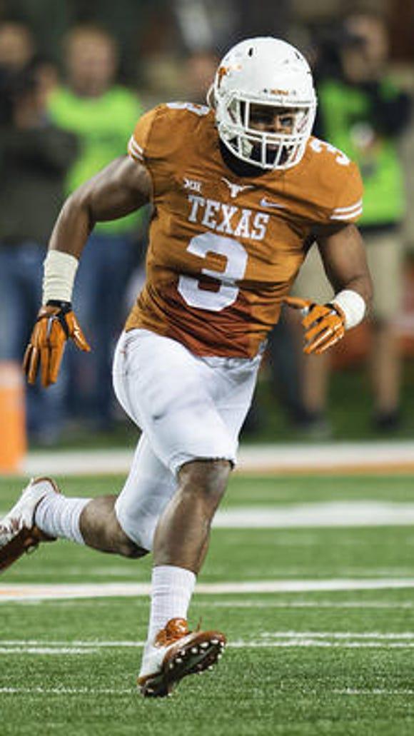 Texas linebacker Jordan Hicks has been invited to the