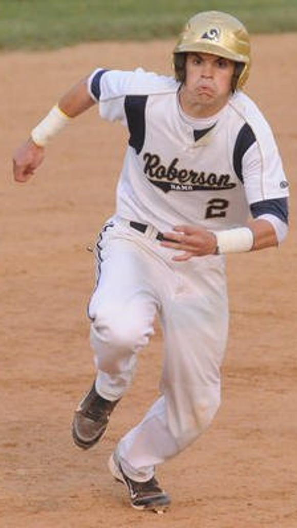 Grant Petty was part of Roberson's 4-A Western Regional championship baseball team in 2011.