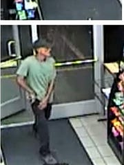 This man is a suspect in three robberies of the Circle