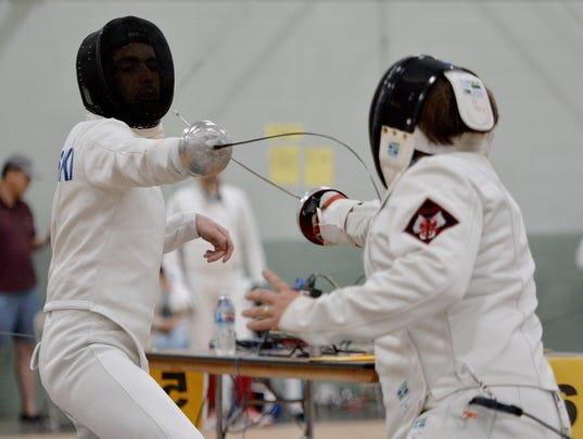 Keystone State Games fencing