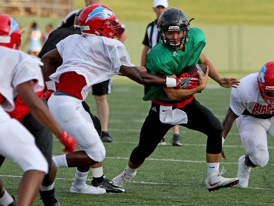 FBH Hirschi Old High Scrimmage