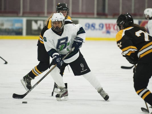 Harwood vs. Burlington/Colchester Girls Hockey 12/30/15