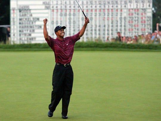2002 — Tiger Woods (Bethpage Black)