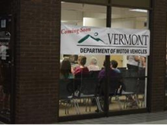The new Vermont DMV office is open in St. Johnsbury.