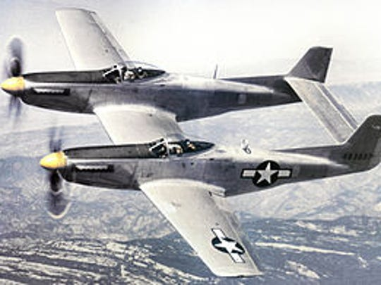 Robert Burnett, of Punta Gorda, qas flying an F-82 Twin Mustang, similar to this, when he was killed in the Korean War.