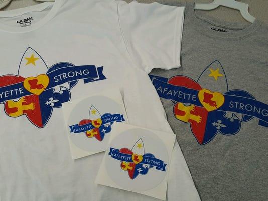 Lafayette Strong Shirts