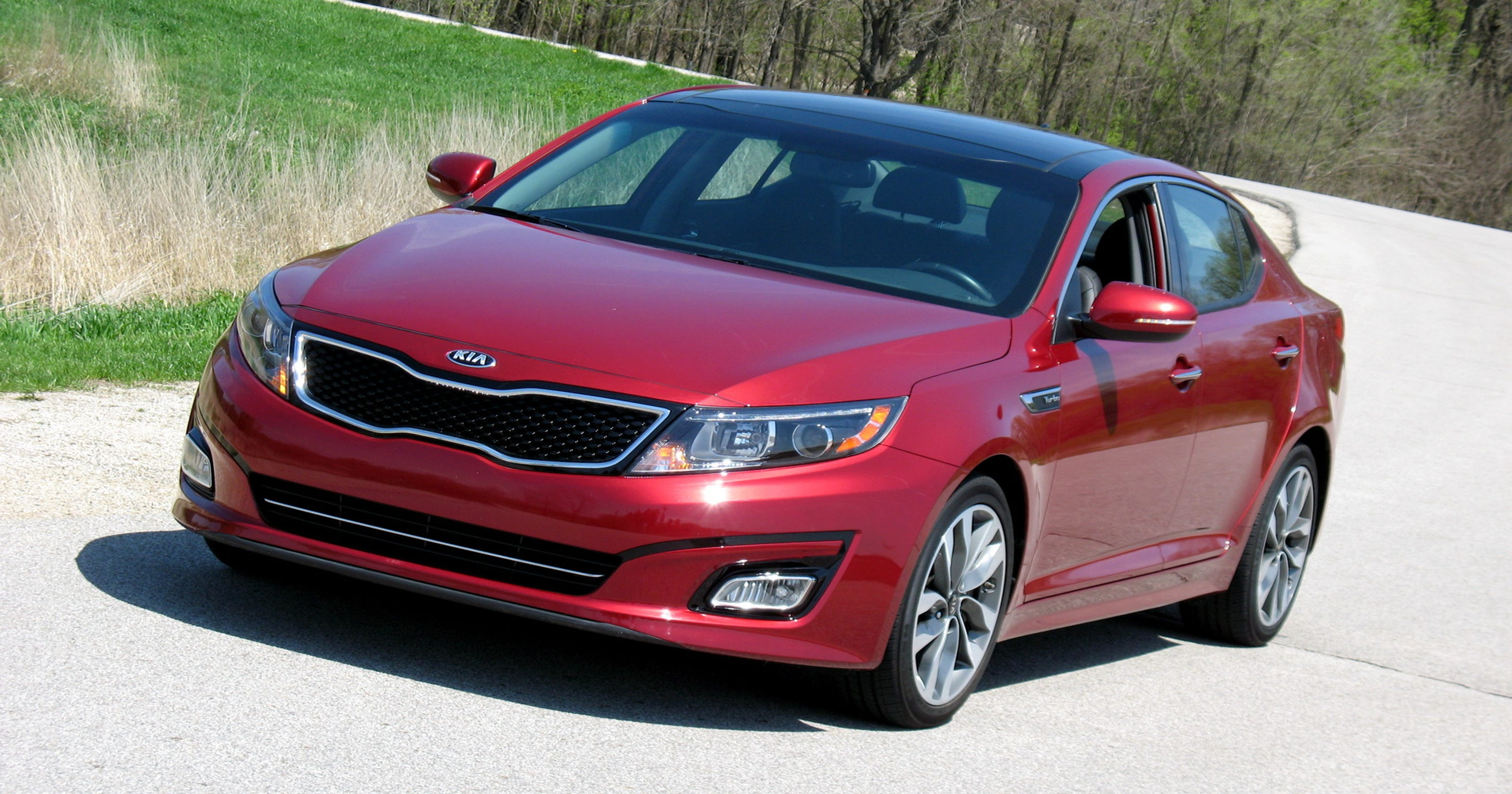 2015 Kia Optima Sedan Has Style Performance Remote Starter Kit