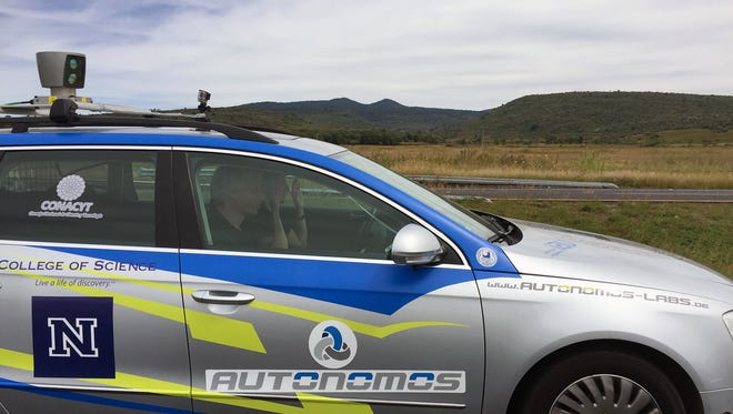University of Nevada, Reno Professor Raul Rojas and his team from Germany completed a 1,500-mile autonomous drive on Oct. 20 from Nogales to Mexico City, the longest-ever autonomous drive in Mexico.