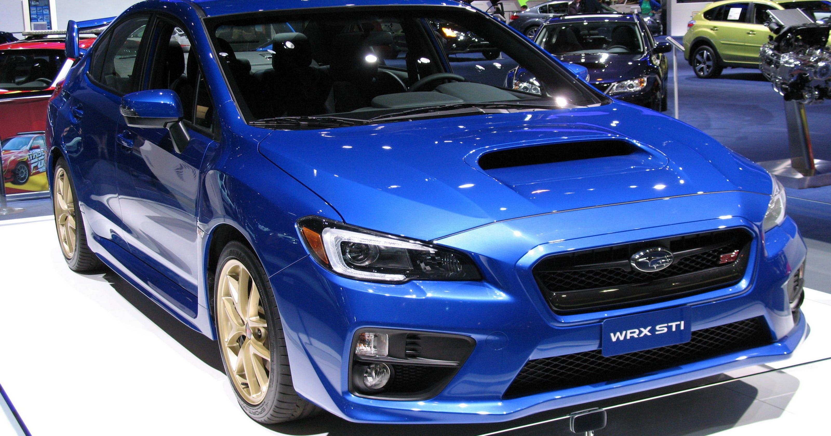 2016 Subaru WRX STI Is Iconic Performance Flagship