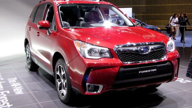 2016 Subaru Forester crossover