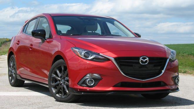 2016 Mazda3 hatchback