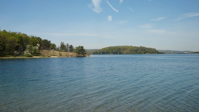 The Round Valley Reservoir in Clinton Township was formed in 1960.