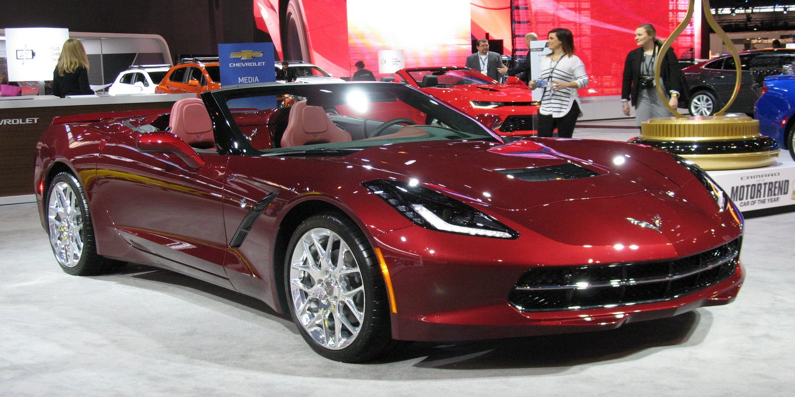 2017 Chevrolet Corvette Stingray Convertible Is A Purist Model