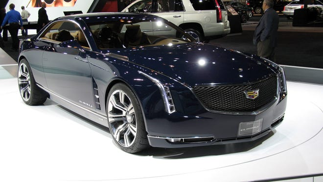 The recently displayed Cadillac Elmiraj concept, with its sleek, sensual lines is rumored to be the template for the upcoming all-new RWD CT6 sedan.